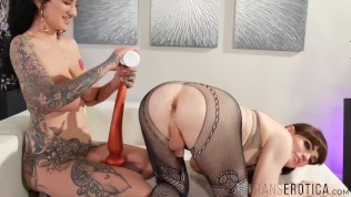 TRANSEROTICA Shemale And Pornstar Anally Pleasure Each Other